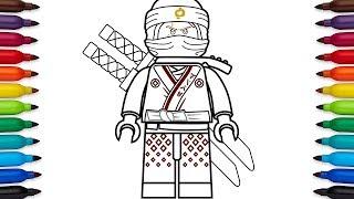 320x180 Et How To Draw Lego Ninjago Kai From The Lego Ninjago
