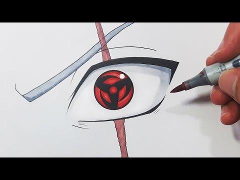 480x360 How To Draw Kakashi's Mangekyou Sharingan