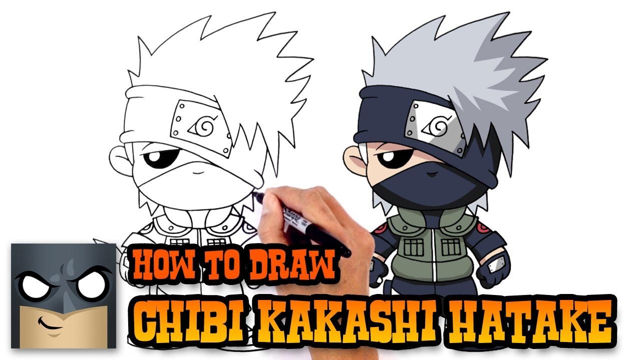 1280x720 How To Draw Kakashi Hatake Naruto