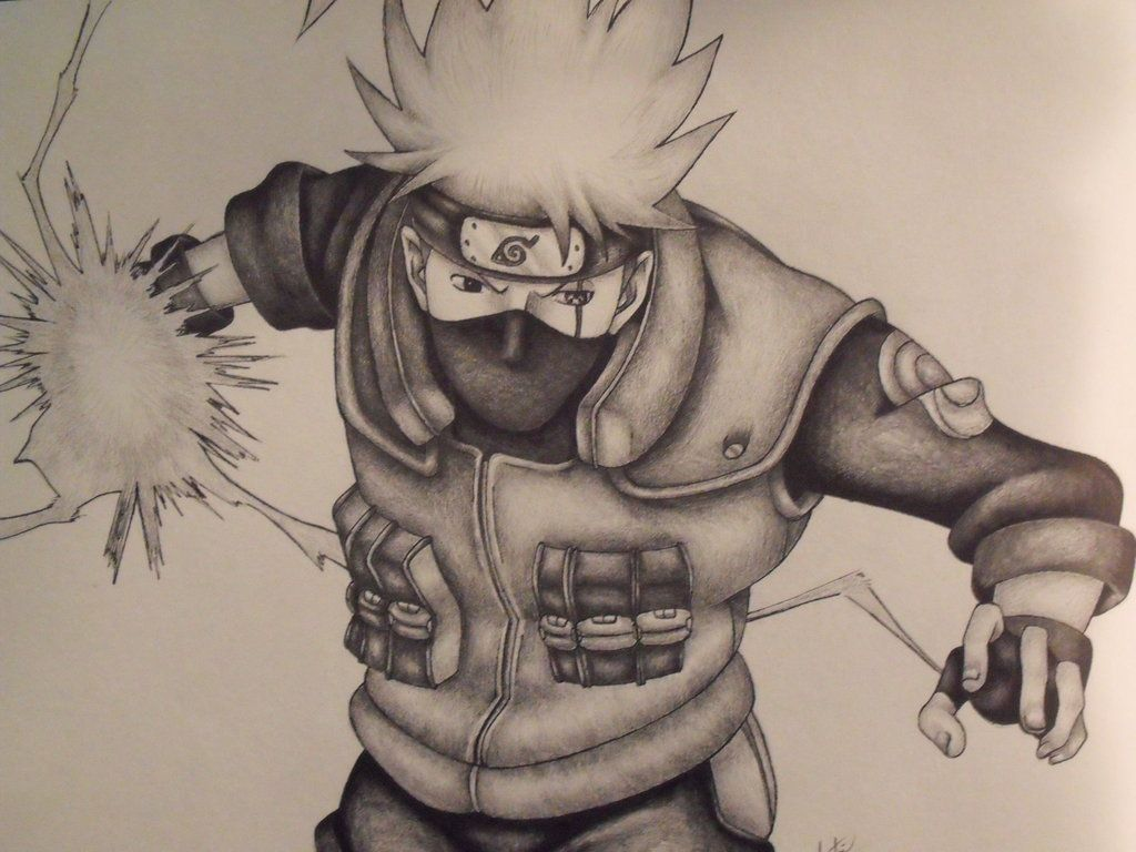 1024x768 Kakashi Hatake By Justineugene On Naruto Pin Board