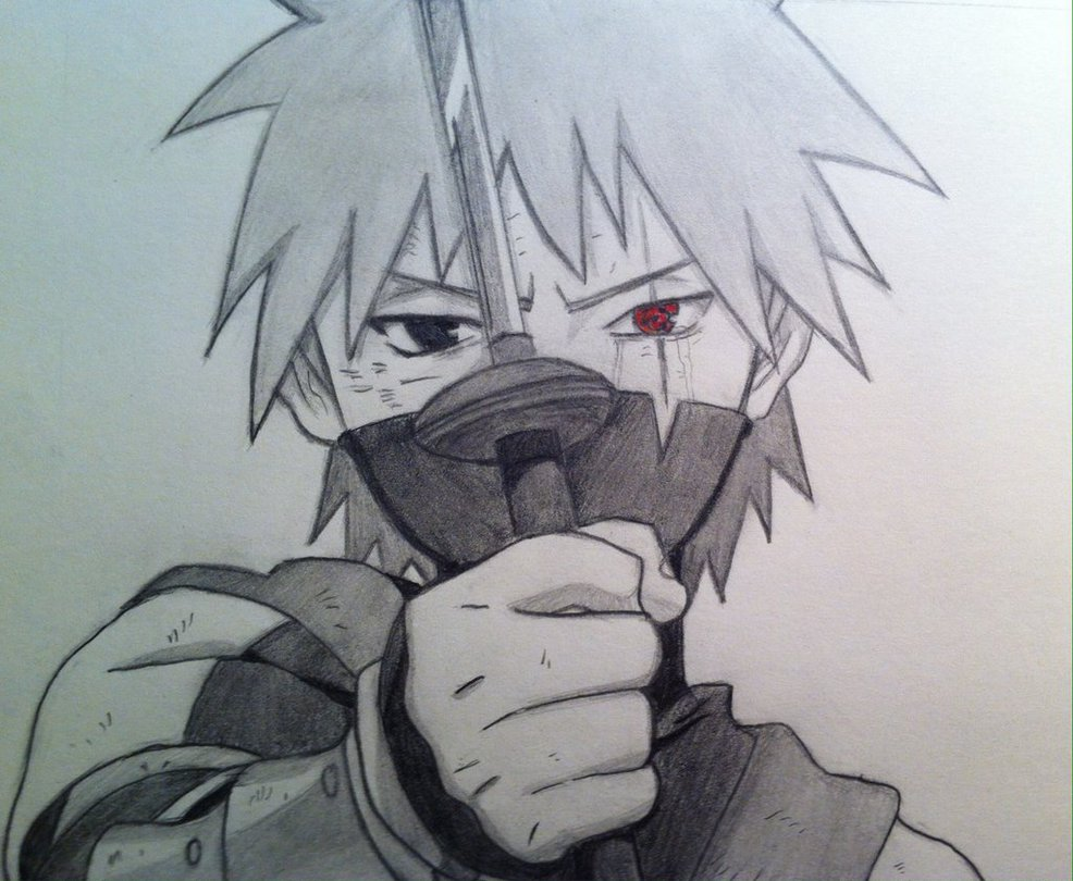 986x810 Young Kakashi Hatake By Drawmaster001