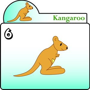 300x300 How To Draw The Kangaroo Step By Step For Kids Disegni Da Fare