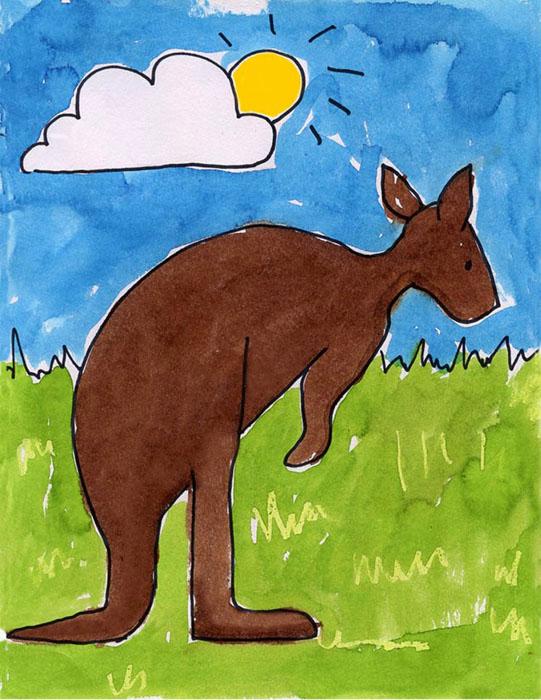 541x700 Kangaroo