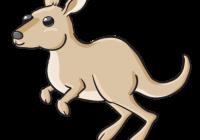 200x140 Nice A Cartoon Kangaroo How To Draw The Kangaroos Drawing