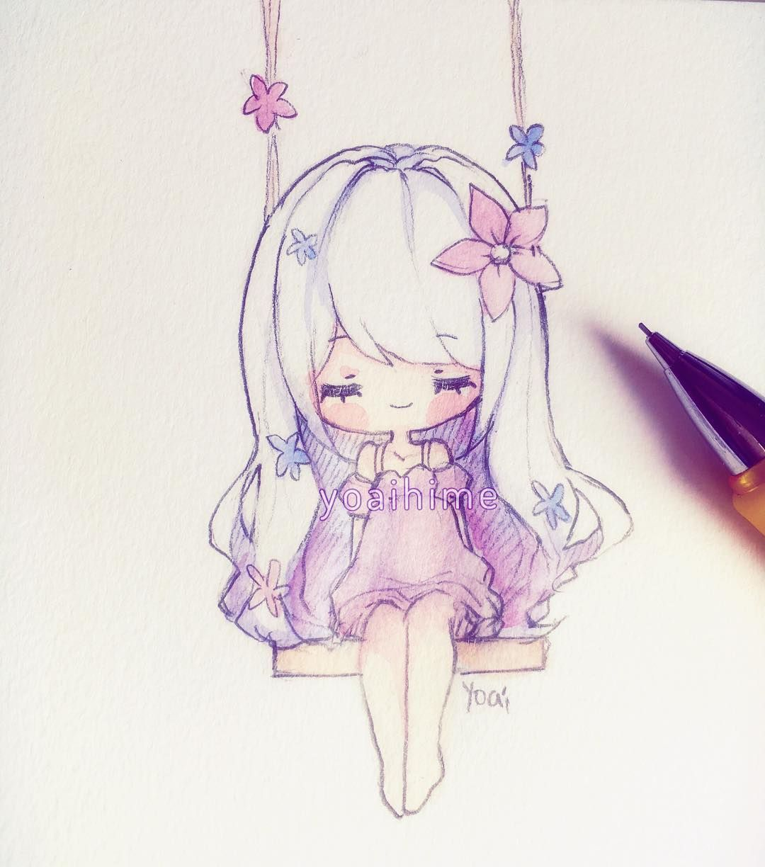 Kawaii Anime Drawing at GetDrawings.com | Free for ...
