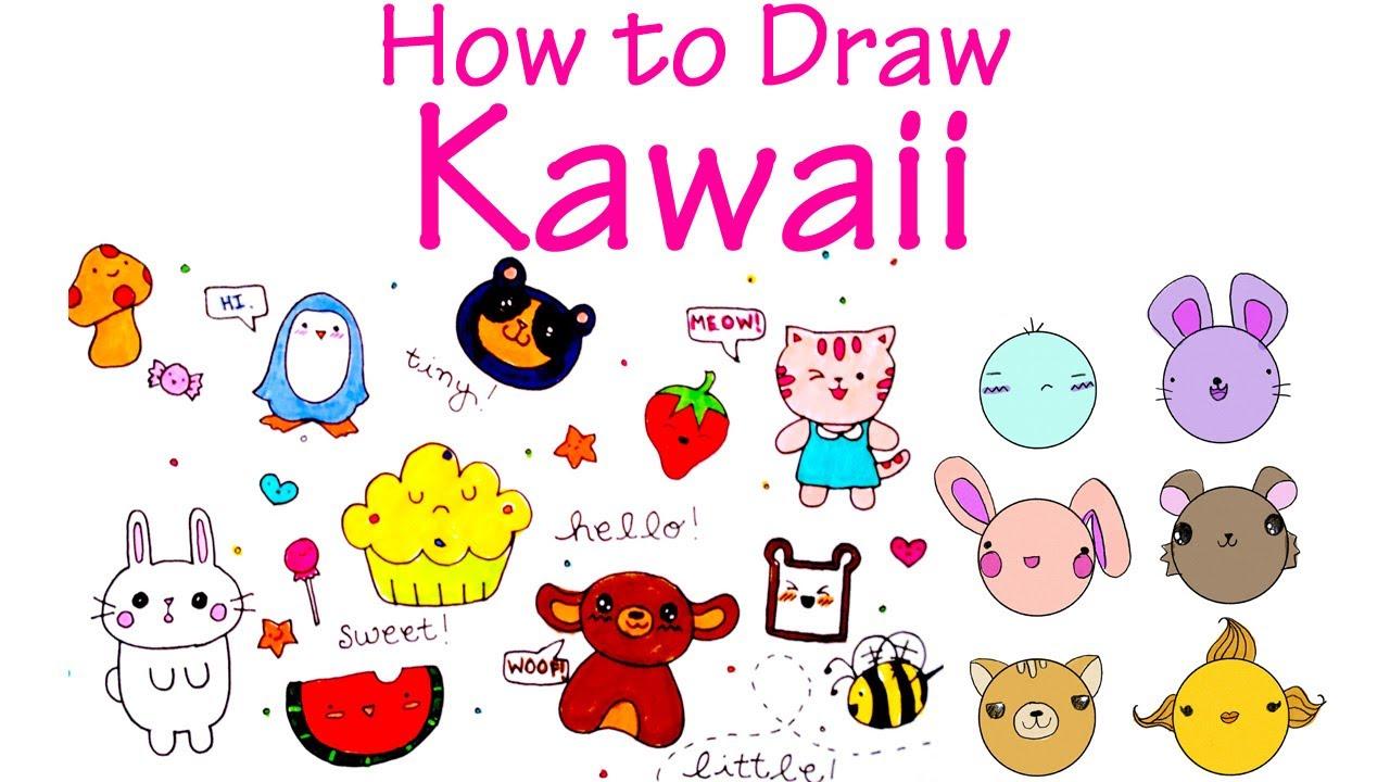 1280x720 How To Draw Cute (Kawaii) Characters