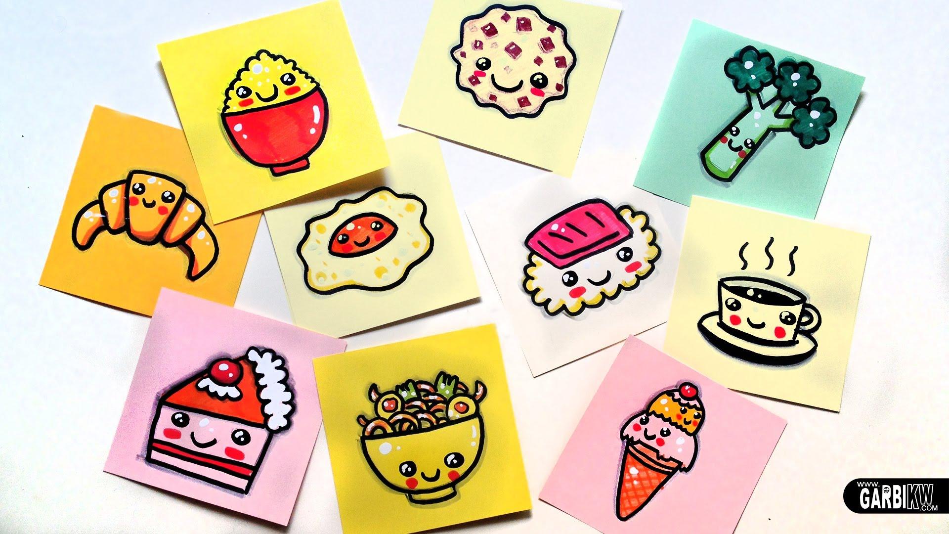 Kawaii Food Drawing At Getdrawingscom Free For Personal