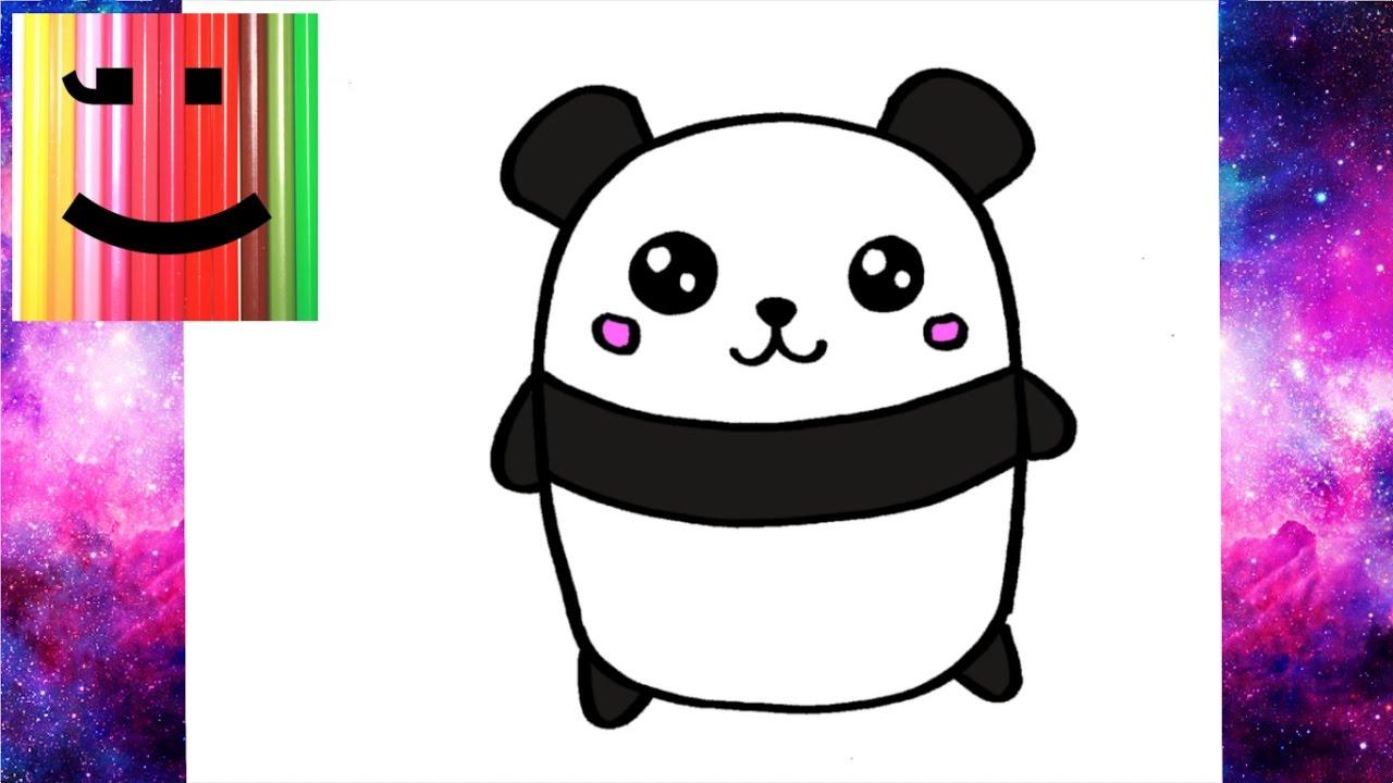 1280x720 Comment Dessiner Un Panda Kawaii