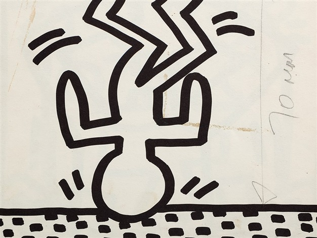 626x470 Drawing On Catalog By Keith Haring On Artnet