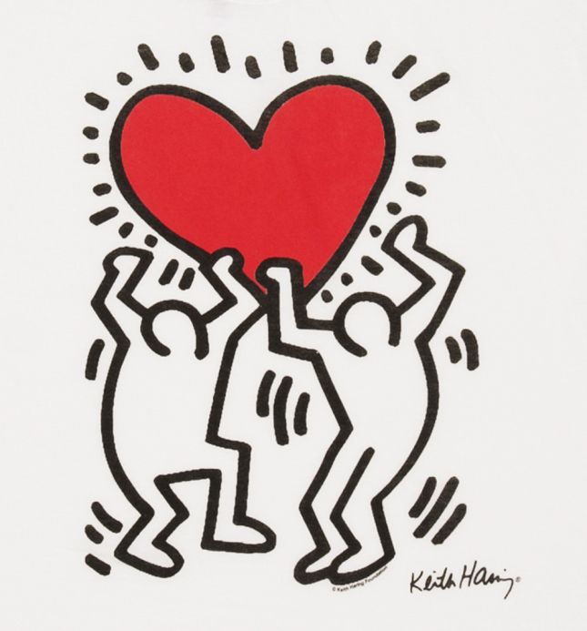 645x693 Keith Haring Drawing The Line Sota Media 3 Class Blog