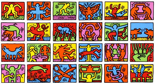 506x273 October's Artist Keith Haring