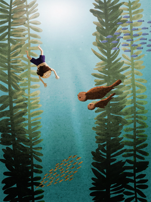 500x667 Kelp By On @ Illust
