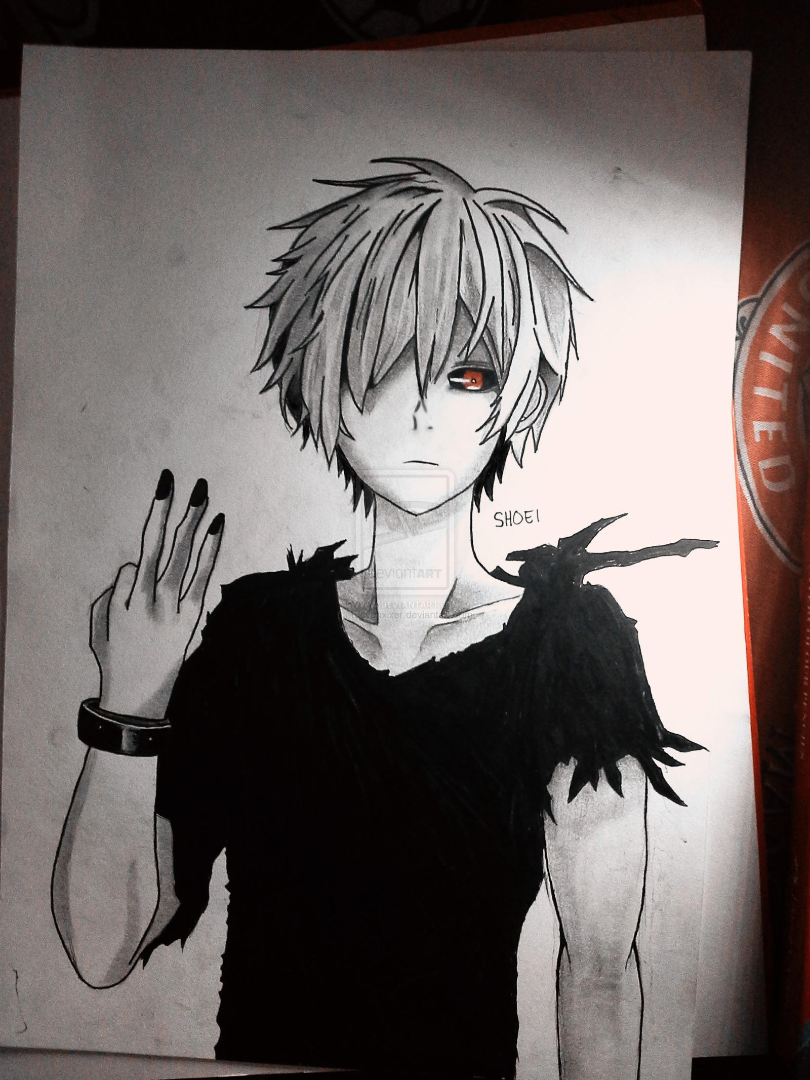 1600x2133 Image For Kaneki Ken Pencil Drawing Dibujos A Lapiz