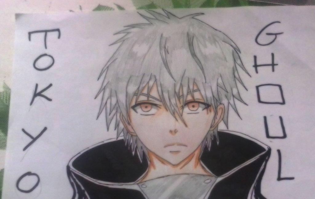 1024x648 Ken Kaneki (Tokyo Ghoul) Draw By Al3x796