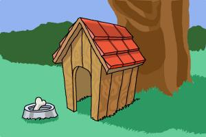 300x200 How To Draw A Dog House