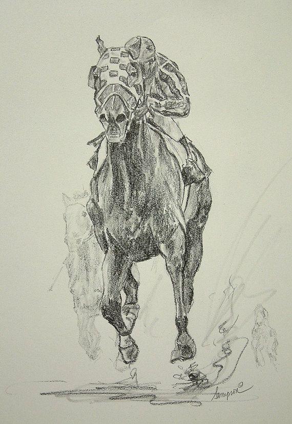 570x827 Secretariat Kentucky Derby Horse Racing Prints By Artsportsdotcom