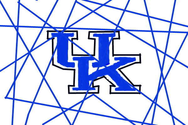 600x400 Kentucky Wildcats Logo A Sports Speedpaint Drawing By Gzzurker