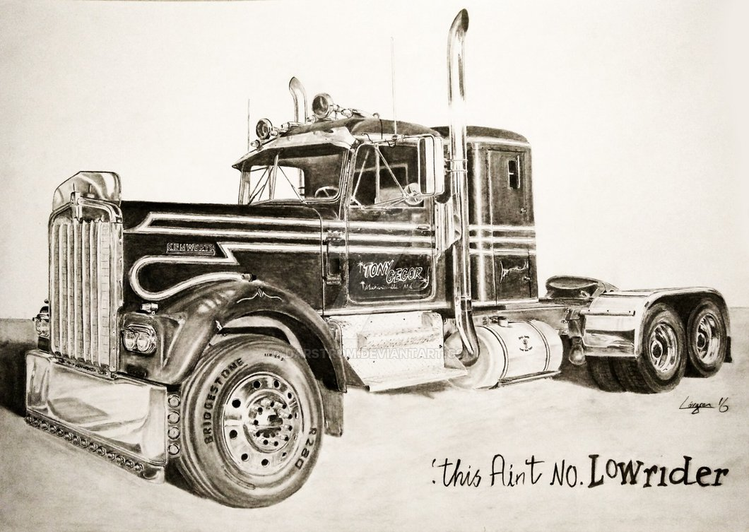 Kenworth Drawing At Free For Personal Use T880 Wiring Diagram 1060x753 1967 W925a By Darstrom