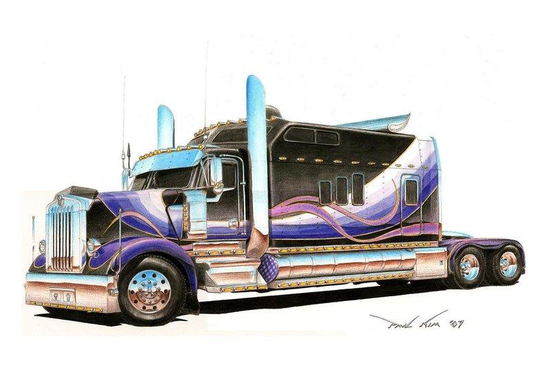 800x547 Gigantic Kenworth By Seawolfpaul