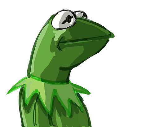 500x410 Kermit The Frog Drawing Barry Johnson