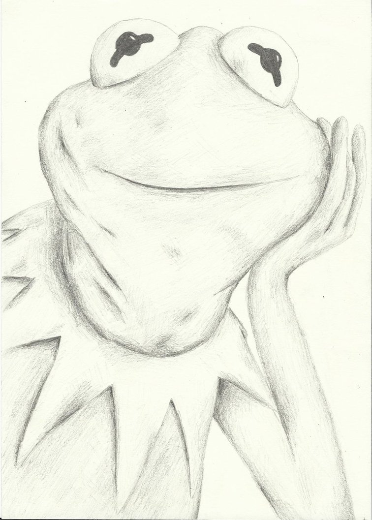 756x1057 Kermit The Frog By Watchy