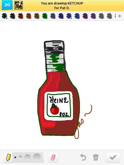 500x667 Ketchup Drawings