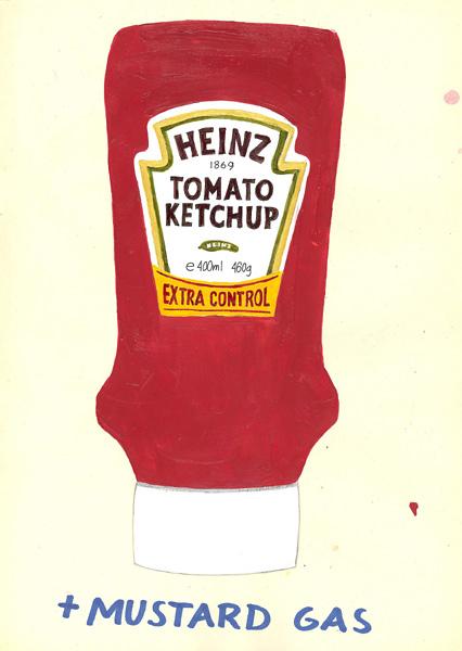 426x600 Riiko Sakkinen Heinz Ketchup And Mustard Gas