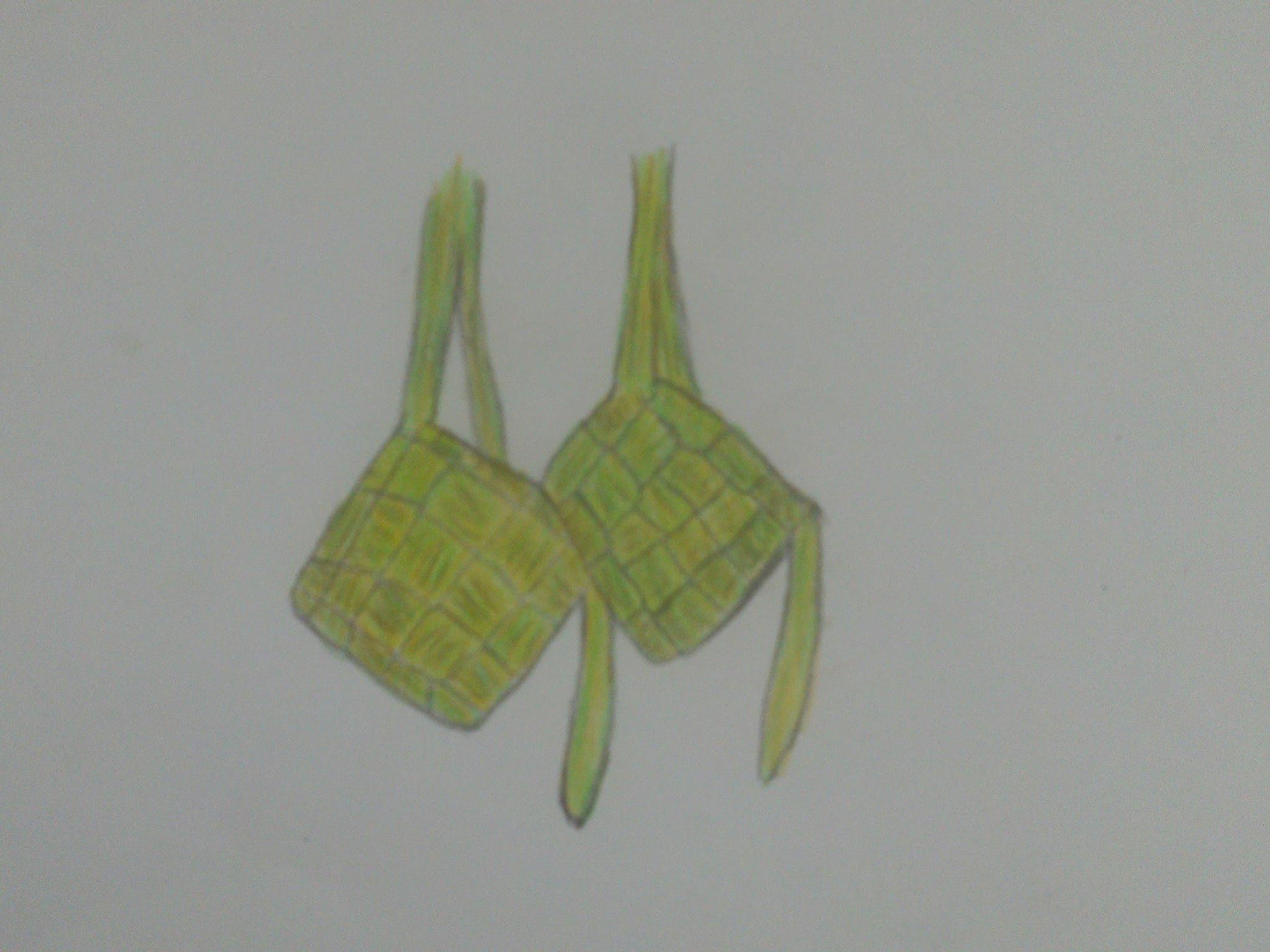 2048x1536 How To Draw Ketupat