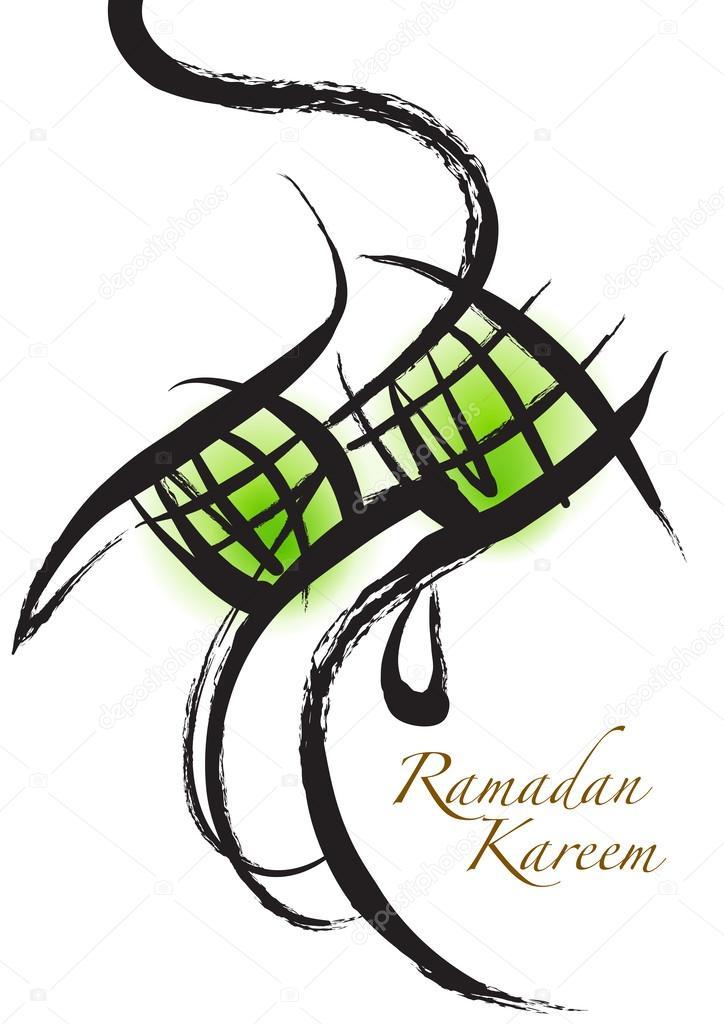 724x1024 Vector Muslim Ketupat Drawing Stock Vector Yienkeat