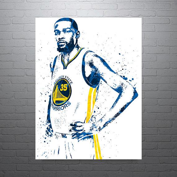 570x570 Kevin Durant Golden State Warriors Sports Art Print
