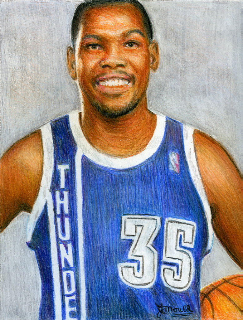 779x1026 Kevin Durant By Jojemo