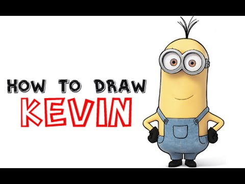 480x360 How To Draw Kevin The Minion From Minions And Despicable Me