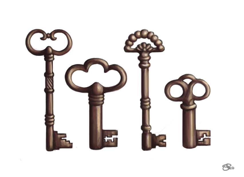 852x618 Best Photos Of Antique Key Drawings