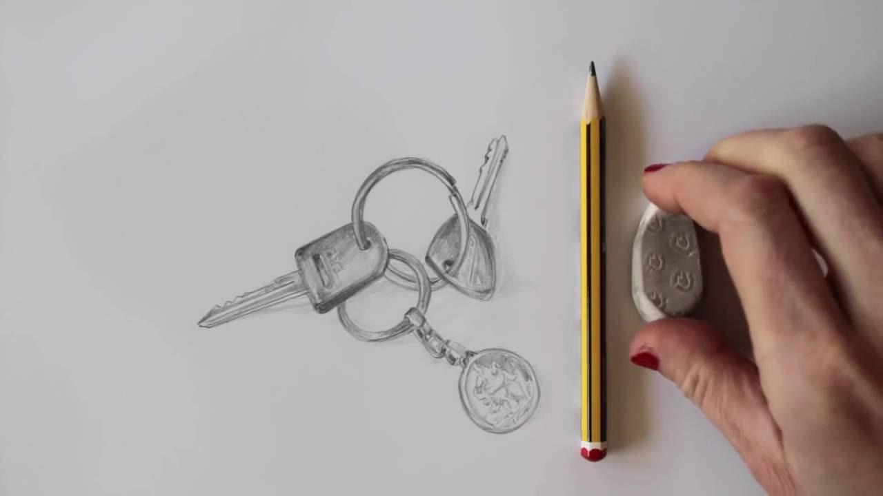 1280x720 How To Draw Keys