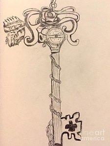 225x300 Skeleton Key Drawings Fine Art America