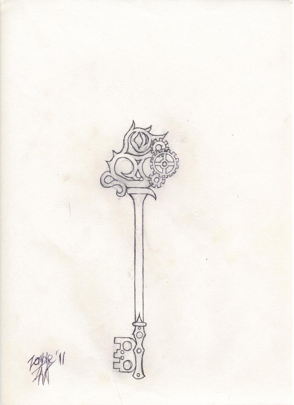 1024x1409 Skeleton Key Sketch By Zombieberlioz