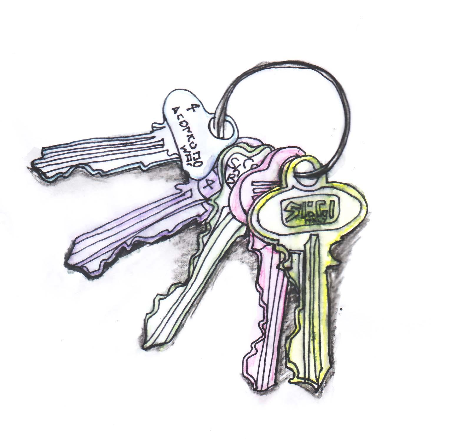 1569x1491 The Scruffian Drawing A Day Keys