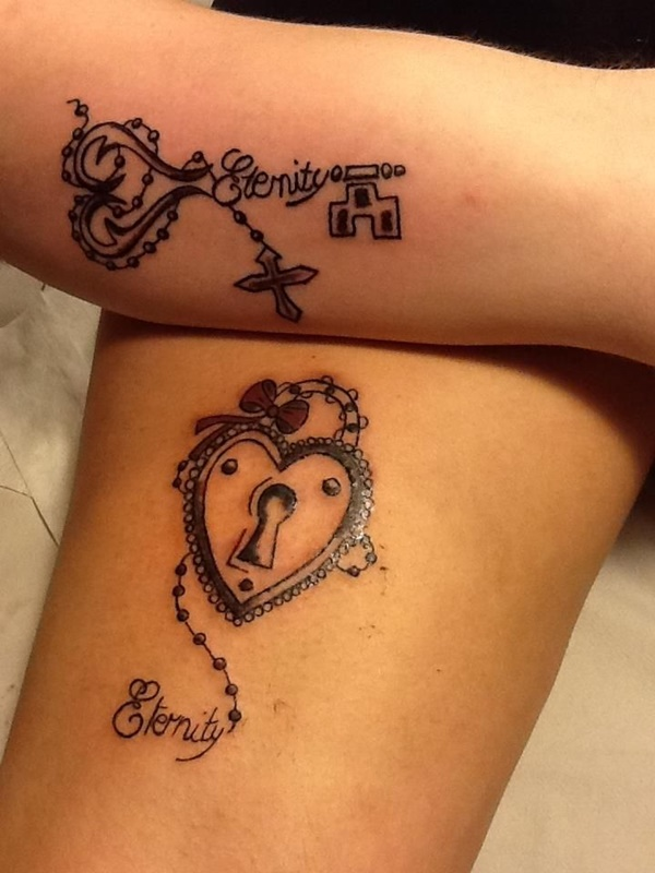 600x800 100 Mysterious Key Tattoo Designs For Your Lock