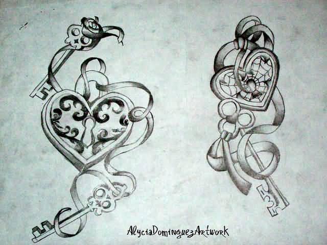 640x480 Key Tattoos Page 4. Tattooshunter Skull Tattoo Designs Heart