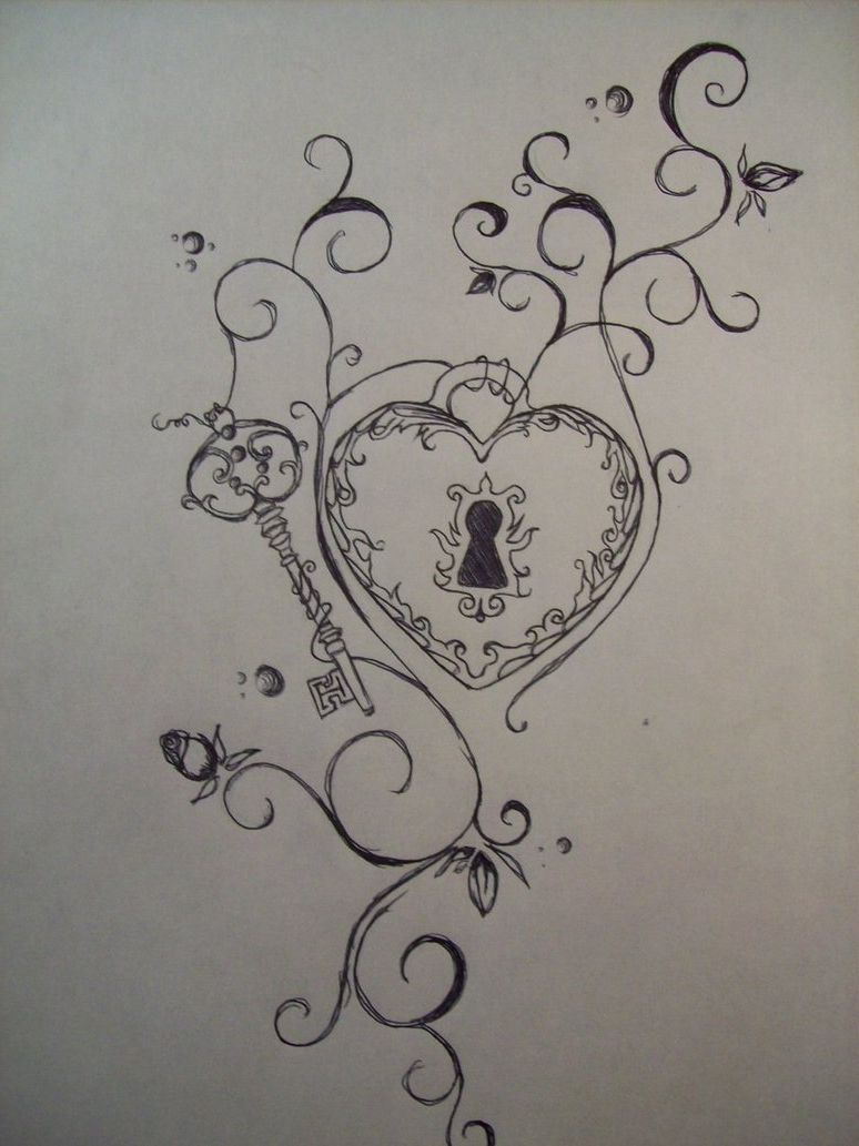 774x1033 Lock And Key Tattoos Designs Images About Key Tattoo