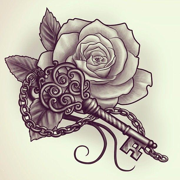 612x612 Rose Tattoos Designs Elaxsir