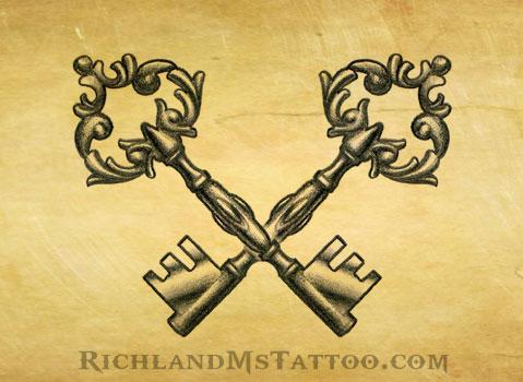 479x350 Master Key' Tattoo By Jen2092