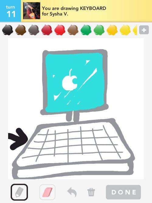 500x667 Keyboard Drawings