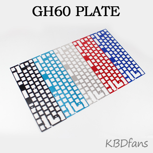 640x640 Mechanical Keyboard Cnc 60 Anode Aluminum Drawing Concurrence