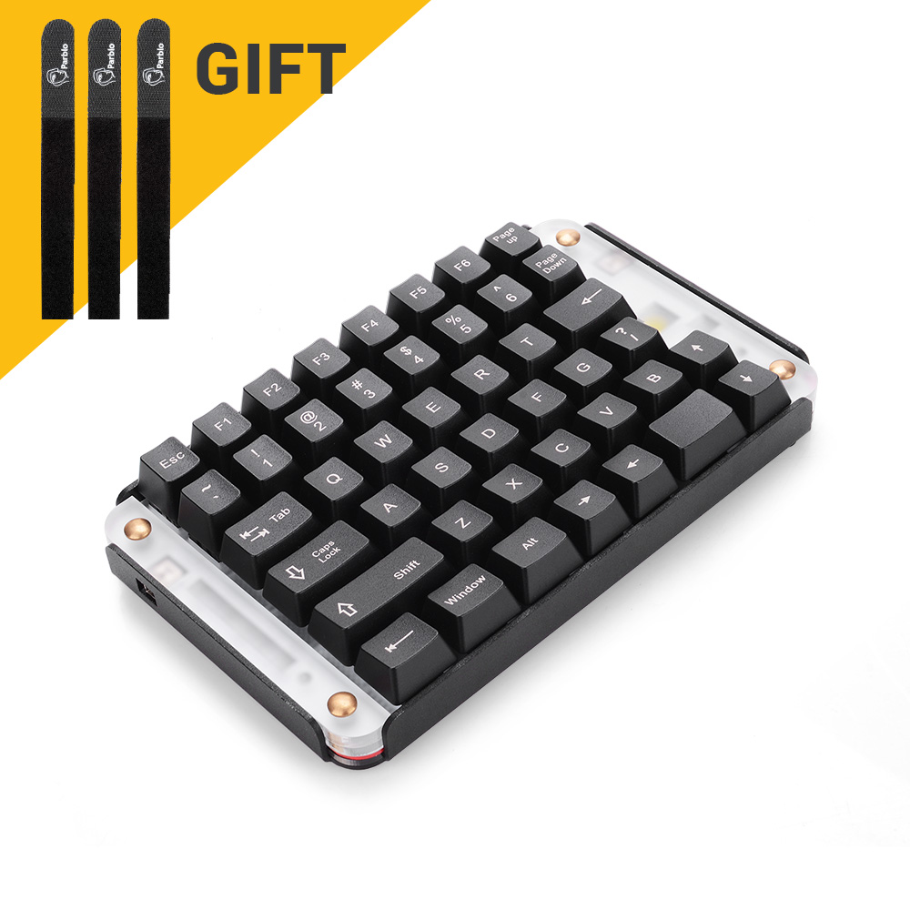 1000x1000 Parblo Pr200 One Hand Mechanical Gaming Keyboard (Linear Action