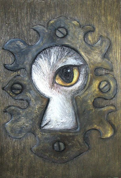 408x600 Keyhole Art Could Have Students Draw Their Dreams, Surrealism