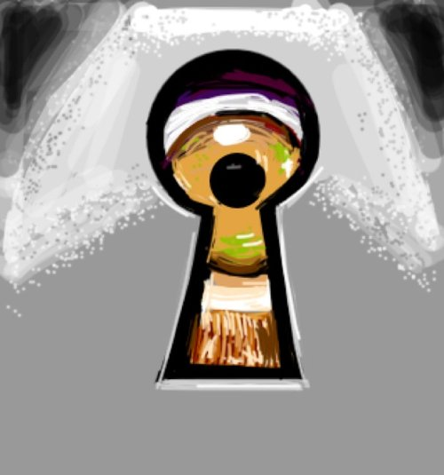 500x535 Keyhole Drawings
