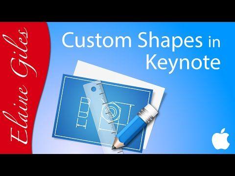480x360 Create Custom Shapes In Keynote Tutorial