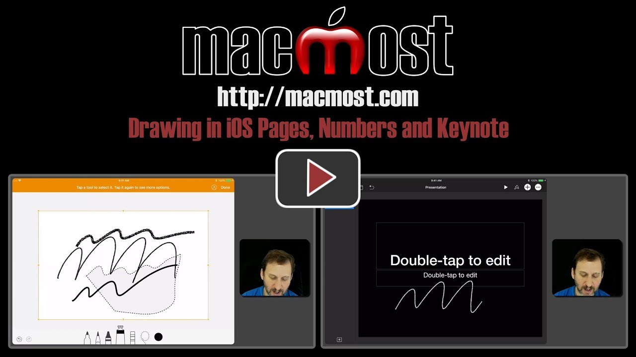 1280x720 Drawing In Ios Pages, Numbers And Keynote ( 1629)