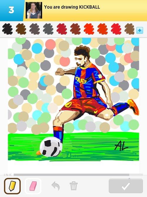 500x667 Kickball Drawings